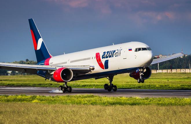 Boeing 767-300 авиакомпании Azur Air