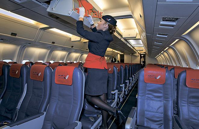 Azur Air: с заботой о комфорте