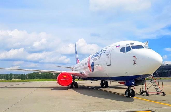Авиакомпания Azur Air получила четвертый Boeing 737