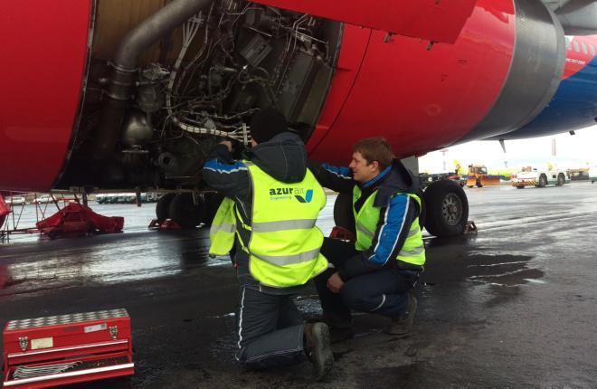 Чартерная авиакомпания Azur Air получила сертификаты EASA Part-145 и OTAR-145