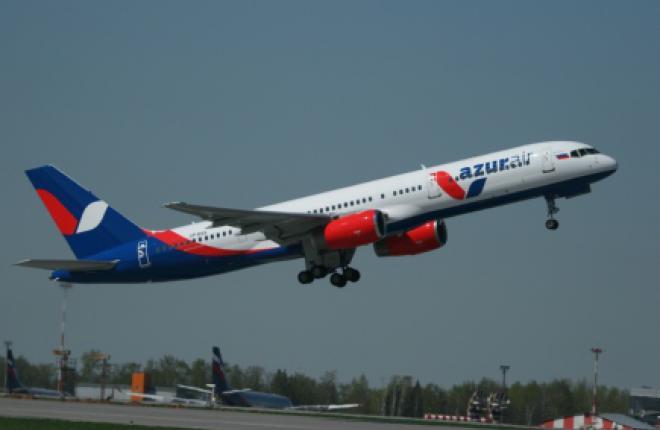 Российская авиакомпания Azur Air расширит парк широкофюзеляжных Boeing 767