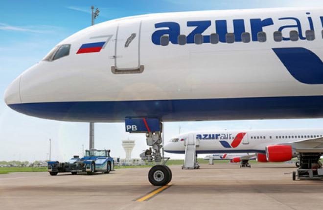 """ЮТэйр"" продала чартерную авиакомпанию Azur Air"