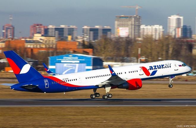 Boeing 757 авиакомпании Azur Air