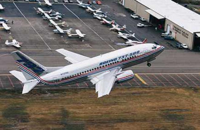 Boeing 737-500 — одна из самых распространенных модификаций в России