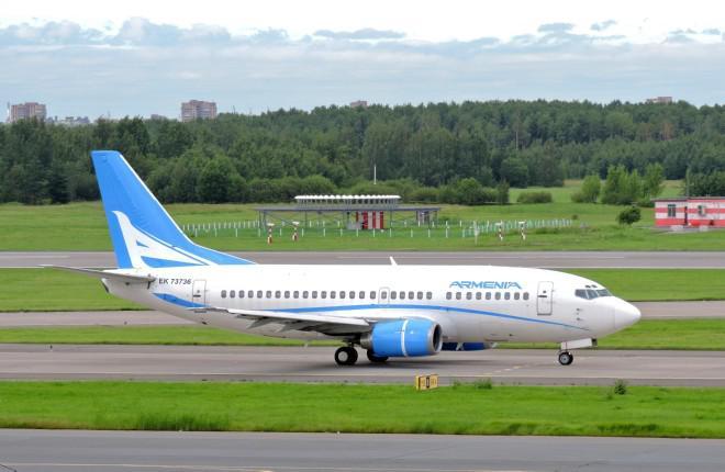 Новая армянская авиакомпания Armenia приступила к полетам