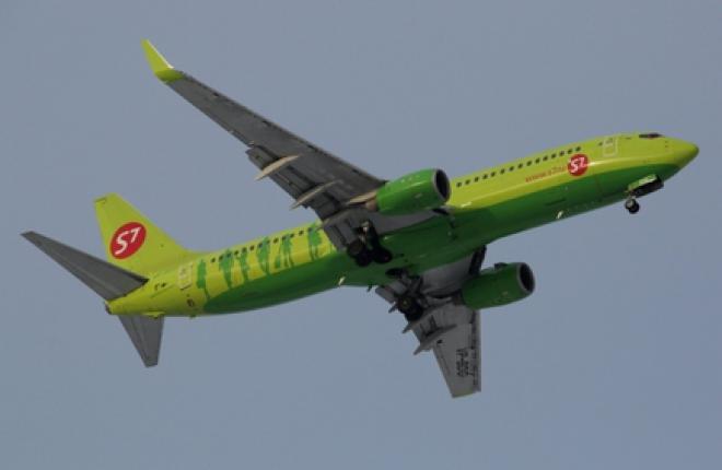 Группа S7 Airlines получит Boeing 737-800 от азиатской лизинговой компании