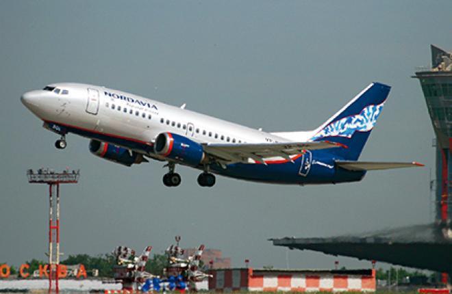 Московские рейсы «Нордавиа» традиционно выполняет в Шереметьево