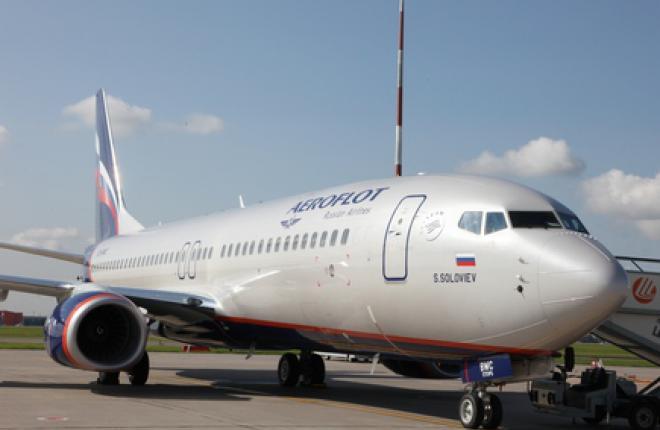 """""""Аэрофлот"""" получил одиннадцатый самолет Boeing 737-800"""