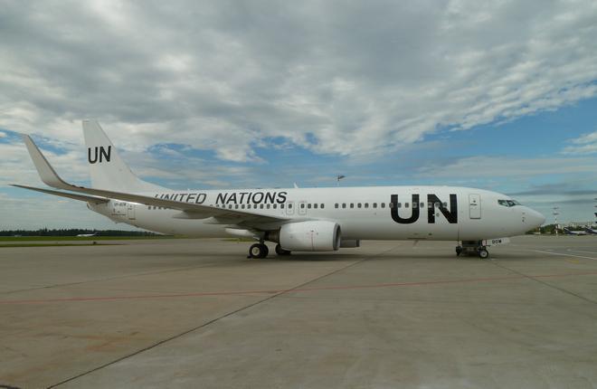 Авиакомпания NordWind отправила Boeing 737 на работу в Африку