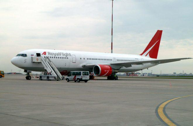 Российская авиакомпания Royal Flight получила первый Boeing 767