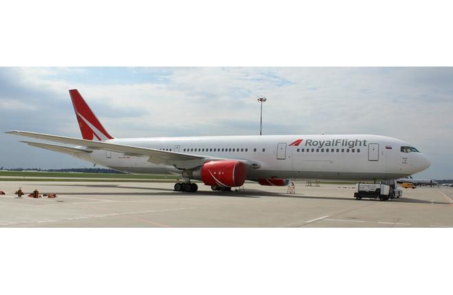 В парке Royal Flight появился второй самолет Boeing 767