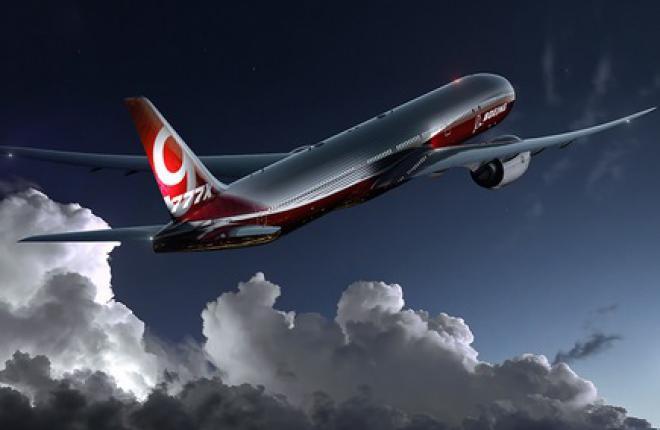 Boeing утвердил конфигурацию широкофюзеляжного самолета Boeing 777-9Х