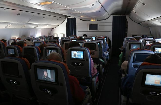 "Салон самолета Boeing-777-300 авиакомпании ""Аэрофлот"""