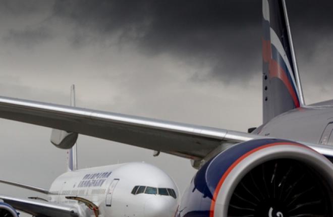 """Крупнейшие российские авиакомпании """"Аэрофлот"""" и """"Трансаэро"""" не набрали пассажиров на международных рейсах"""