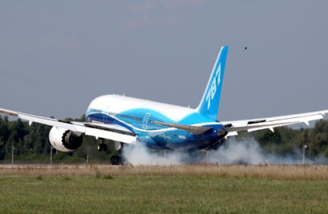 Самолет Boeing 787 получил сертификаты FAA и EASA