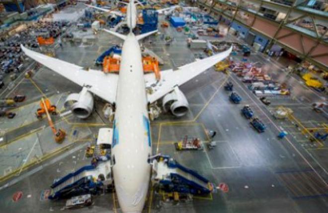 Boeing увеличивает темпы производства самолетов Boeing 787 до семи в месяц