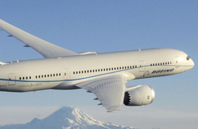 Финальная стадия летных испытаний самолета Boeing 787