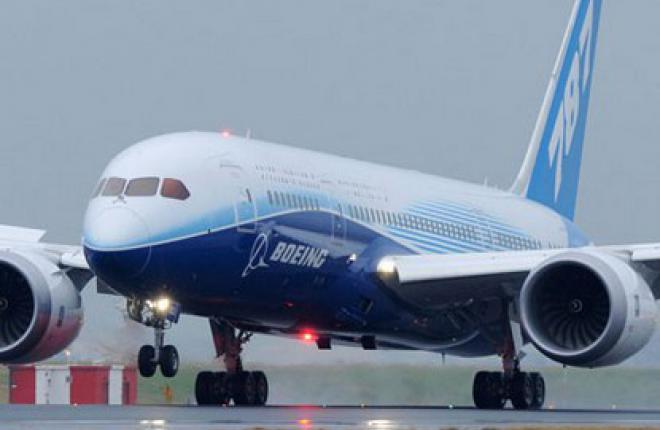 Авиационные власти США приостановили эксплуатацию Boeing 787