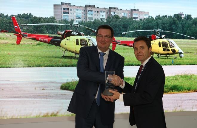 """""""ЮТэйр — Вертолетные услуги"""" налетала 50 тыс. ч на вертолетах Airbus"""