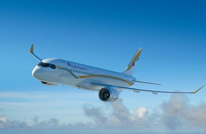"""Ильюшин Финанс Ко"" заказала 42 самолета Bombardier CS300"