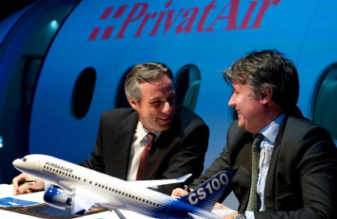 Авиакомпания PrivatAir заказывает самолеты CSeries