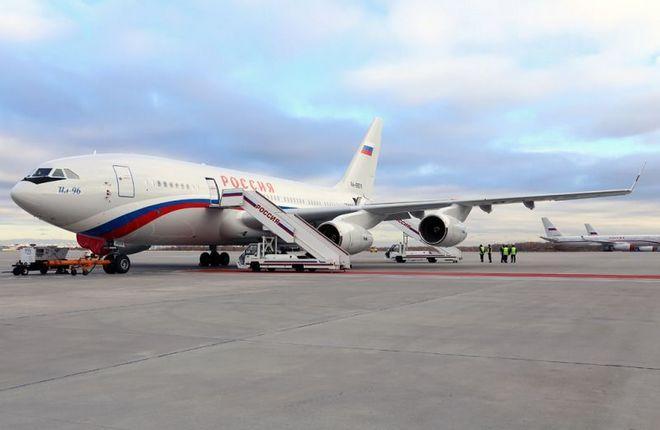 """Ил-96-300 СЛО """"Россия"""""""