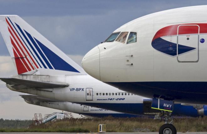 Российские перевозчики не разрешили British Airways летать в Москву на Boeing 74
