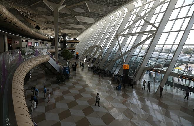 Терминал бакинского аэропорта