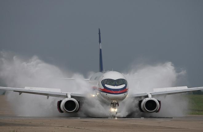 Обслуживанием SSJ 100 займется немецкий провайдер ТОиР Haitec