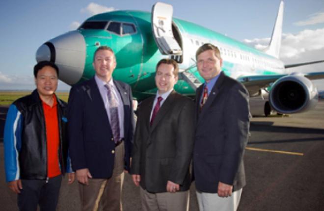 Boeing Business Jet установил мировой рекорд скорости