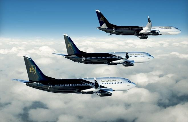 Boeing Business Jets семейства MAX