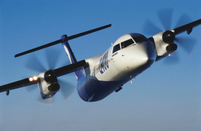 Bombardier увеличил вместимость самолета Q400 до 90 кресел