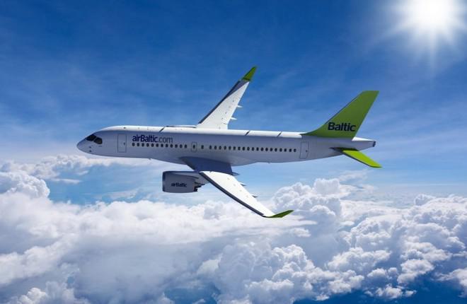Авиакомпания airBaltic увеличила заказ на CS300 до 20 самолетов
