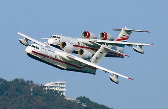 Многофункциональный самолет-амфибия Бе-200ЧС