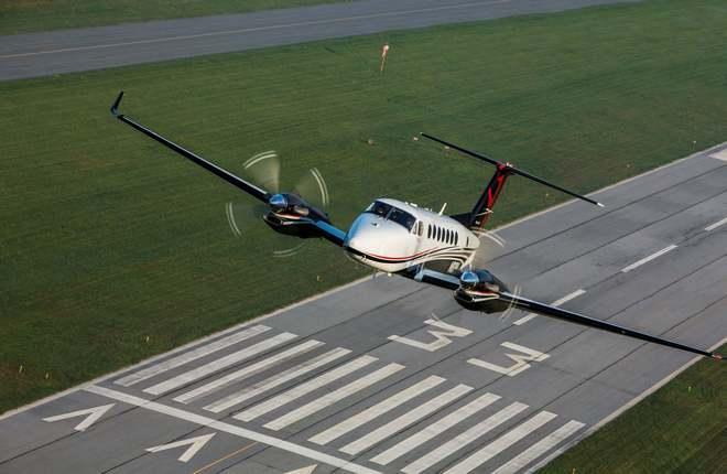 Деловой самолет King Air 350I компании Textron Aviation ING AIR