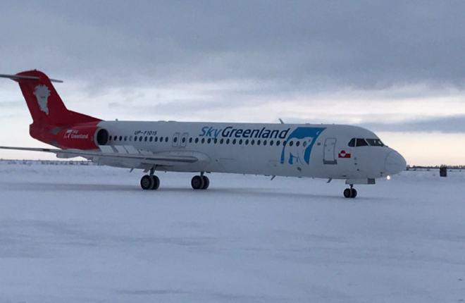 Авиакомпания Bek Air получила восьмой Fokker 100