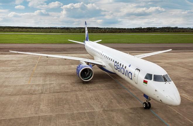 «Белавиа» приняла поставку нового Embraer E195-E2