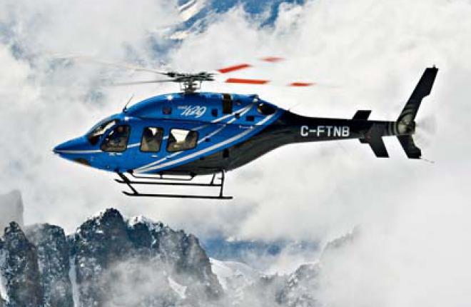Посетители JetExpo 2012 имеют возможность посмотреть на выставке легкий двухдвиг