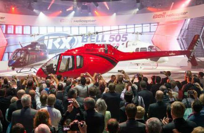 Компания Bell Helicopter представила новый легкий вертолет