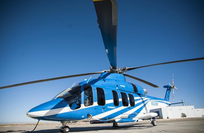 Второй летный прототип вертолета Bell-525