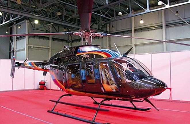 Хотя на HeliRussia 2015 был показан вертолет Bell-407GX, собирать в России будут более новую версию — GXP