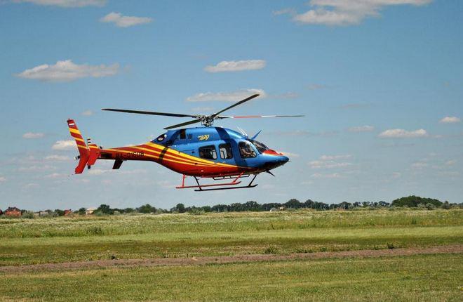 В России появился второй коммерческий эксплуатант вертолетов Bell-429