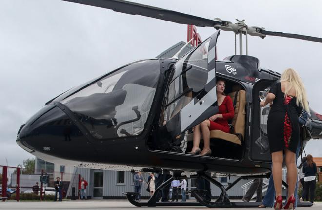Bell-505 приурочил к HeliRussia 2018 свой первый демотур для российских клиентов :: Леонид Фаерберг / Transport-Photo.com