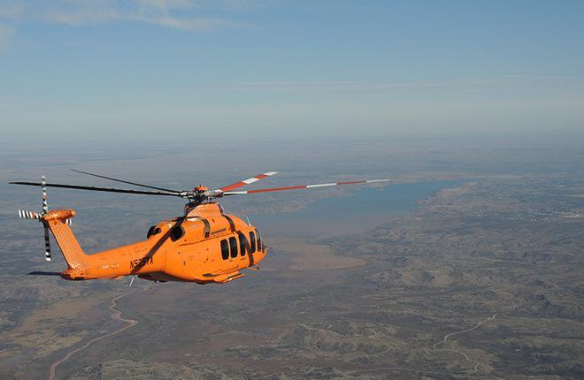 В США потерпел катастрофу прототип вертолета Bell-525