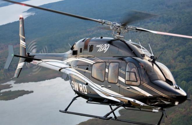 Взлетный вес Bell 429 увеличен на 226 кг