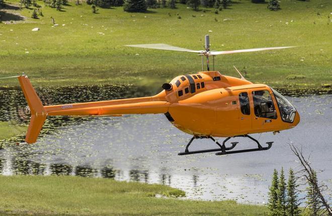 Вертолет Bell-505 Jet Ranger X получил сертификат FAA