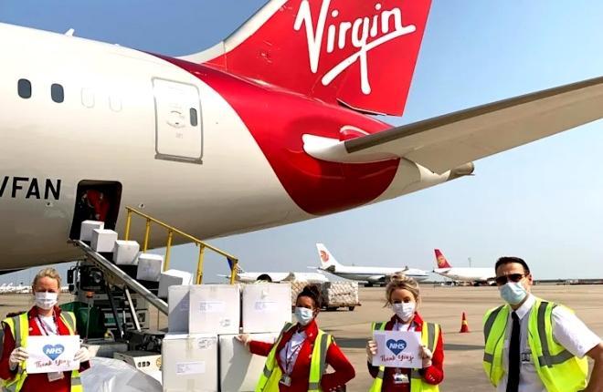 Экипаж Virgin Atlantic
