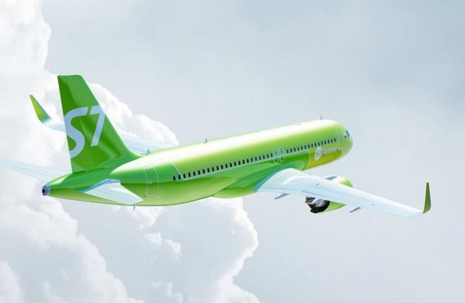"Airbus A320neo S7 Airlines (""Сибирь"")"