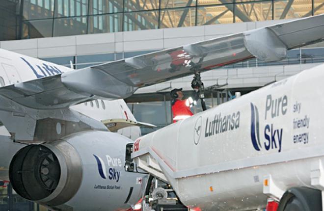 Lufthansa коммерческие полеты с использованием биосинтетического керосина