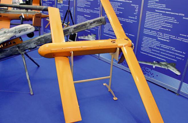 Размеры беспилотника со сложенными крыльями  близки к размерам стандартного внешнего топливного бака самолета